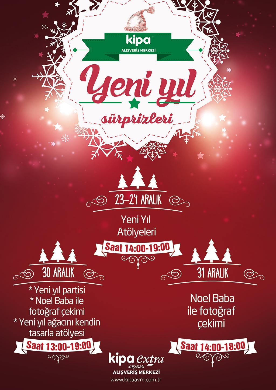 Yeni yıl Sürprizleri Kuşadası Kipa AVM'de!