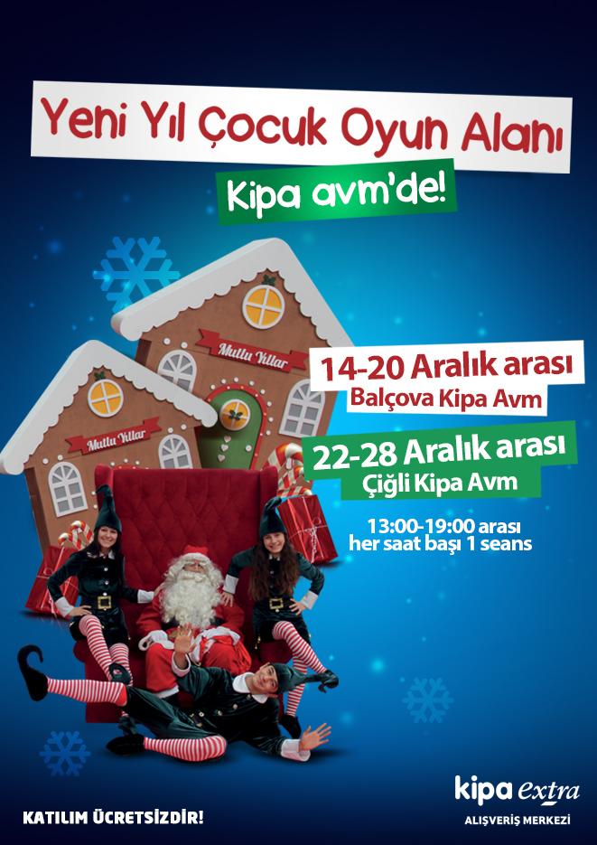 Yeni yıl çocuk oyun alanı Kipa AVM'de!