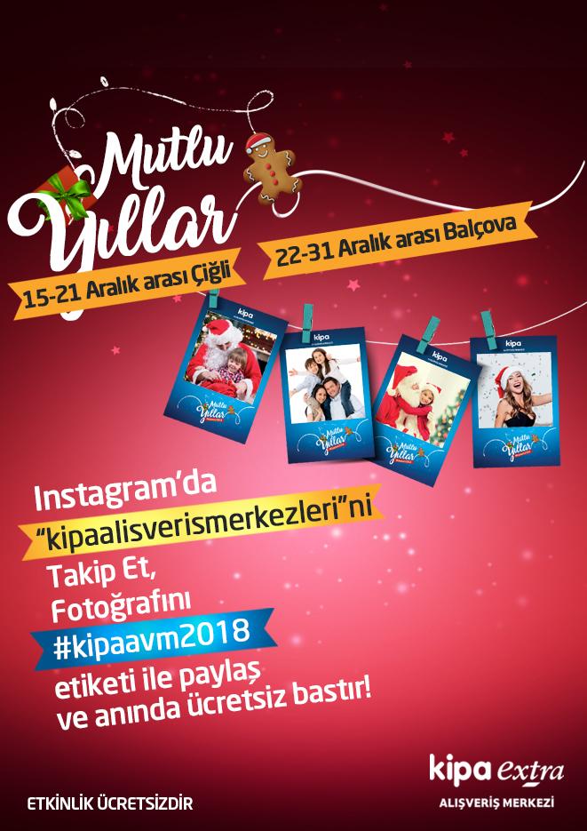 Instagram'da @kipaalisverismerkezleri'ni takip et, fotoğrafını #kipaavm2018 etiketi ile paylaş ve anında ücretsiz bastır!